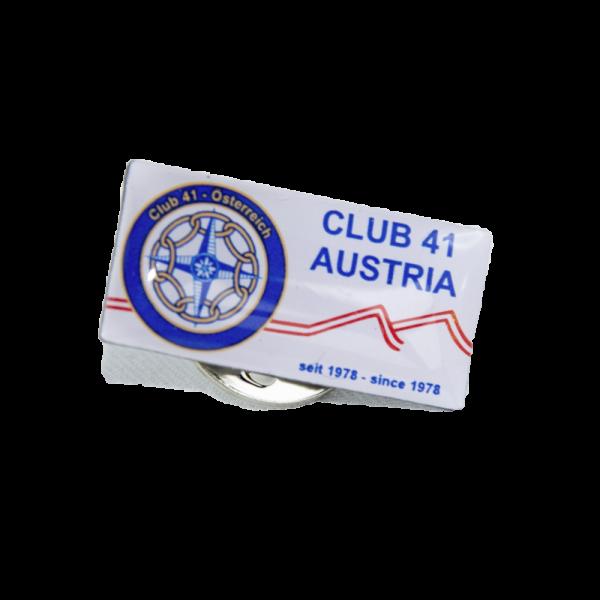 Club41 Austria Pin rechteckig 15mm