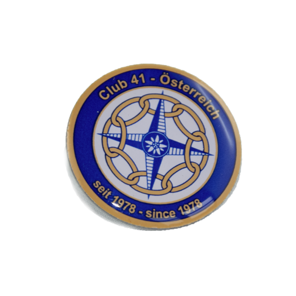 Club41 Doming Sticker (3D-Sticker)